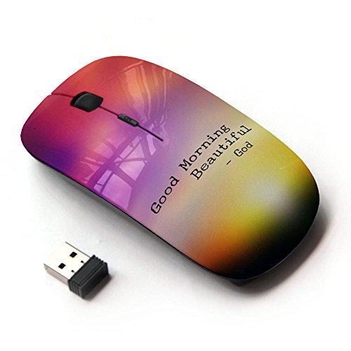 KOOLmouse [ Optical 2.4G Wireless Computer Mouse ] [ BIBLE VERSE GOOD MORNING BEAUTIFUL ]