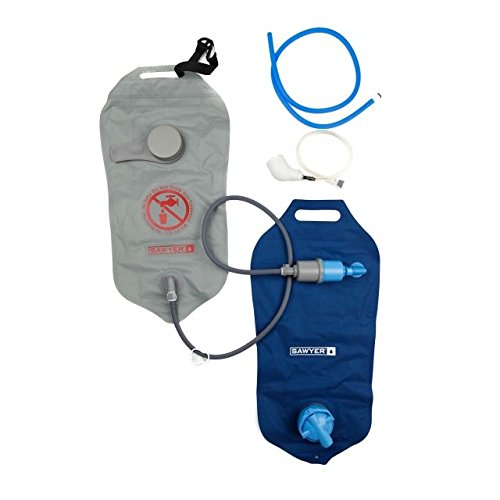 Sawyer Products SP184 Two Bag Complete Water Filtration System, 4-Liters Each