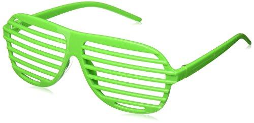 Slot Neon Glasses - 80's Costumes For Boys