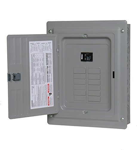 Siemens 12 Space, 24, Circuit, 100 Amp, Main Breaker, Indoor Load Center, Copper Bus Bars by Siemens