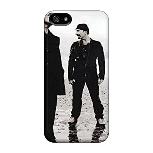 Durable Hard Cell-phone Case For iphone 5c With Unique Design HD U2 Image SherriFakhry
