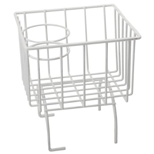 Vw / Volkswagen Center Hump Storage Basket with 2 Cup Holders. Ivory Finish, Sturdy Wire Frame Requires No Hardware for Insulation. Fits Snuggly on Center Tunnel. Fits All Type 1 Bugs, Karmann Ghia, Manx Dune Buggies and Thing.