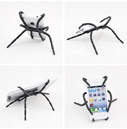 2010kharido Universal Spider Grip Stand Mounts Hanger Holder for Smart Phone GPS iPod Car
