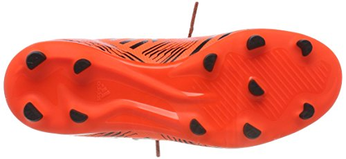 adidas Mädchen Nemeziz 73 FG J Fußballschuhe Mehrfarbig (Solar Orange/core Black)