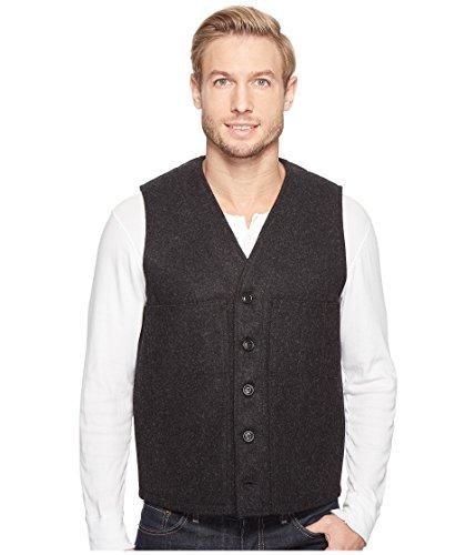 Filson Men's Mackinaw Wool Vest Charcoal X-Large