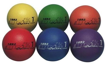 (Dino Skin Colored Foam Balls (Blue))
