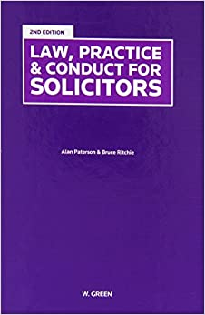 Law, Practice & Conduct for Solicitors