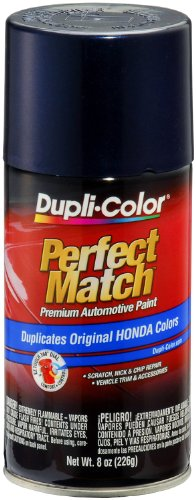 (Dupli-Color BHA0991 E7 Royal Blue Pearl Honda Perfect Match Automotive Paint - Aerosol, 8. Fluid_Ounces)