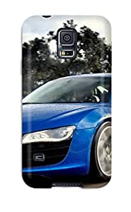 Galaxy S5 Case, Premium Protective Case With Awesome Look - 2010 Audi R8 5.2 Fsi Quattro 7