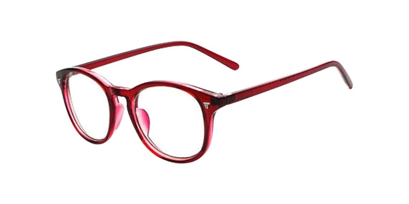 2967b9db4d0e Amazon Com Wine Red Vintage Men Women Eyeglass Frame Glasses Retro