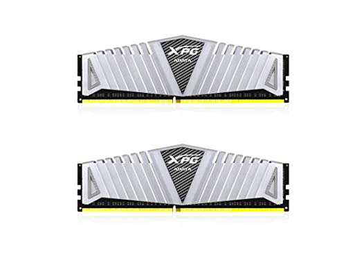XPG Z1 DDR4 3000MHz (PC4 24000) 16GB (2x8GB) Gaming Memory Modules, Silver (AX4U300038G16-DSZ1) ()