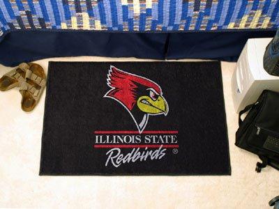 Illinois University Baseball Rug (Illinois State University Starter Rug)