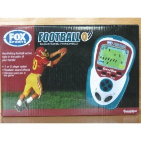 Excalibur Electronic Handheld Game - Excalibur FX204 Fox Sports Football Handheld