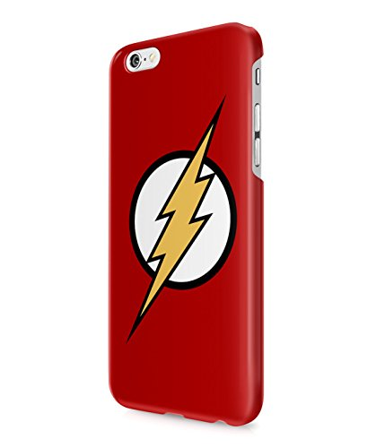 The Flash Logo Justice League Superhero Comics Plastic Snap-On Case Cover Shell For iPhone 6