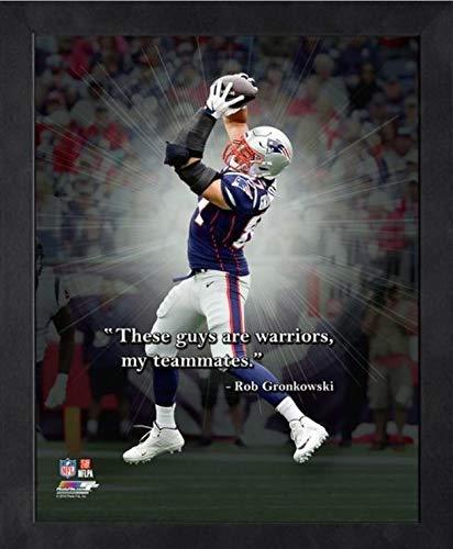 Ron Gronkowski New England Patriots ProQuotes Photo (Size: 12