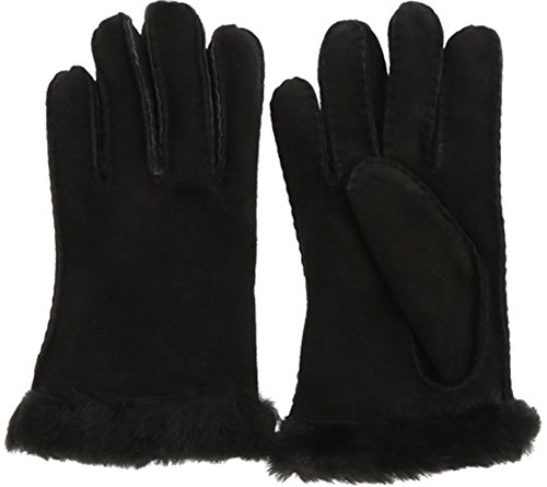 UGG Womens Carter Glove In Black Size Large