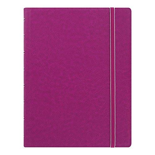 Filofax Notebook, A5 Size, 8.25 x 5.182 inches, Fuchsia (B115011U)
