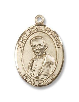 Gold Filled St. John Neumann Pendant