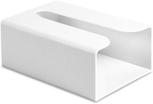 Bai Su BS Portarrollos de Papel higiénico: Estuche de Papel higiénico de Cocina para la Pared de Papel de perforación de perforación Gratuito Varilla de Repuesto de níquel Cepillado (Color : White):