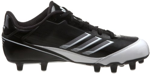 Pictures of adidas Men's Scorch X SuperFly Low Black/White/Metallic Silver 3