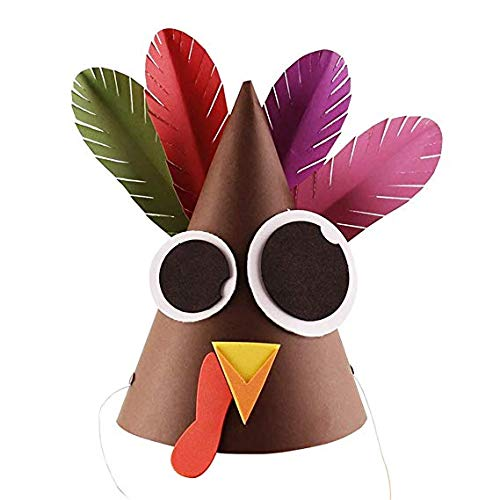 Polymer True Utility Thanksgiving DIY Turkey Hat DIY Handmade Turkey Educational Toys Thanksgiving Decoration