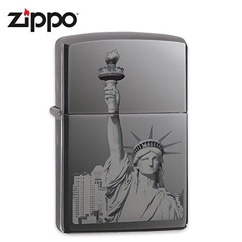 Zippo Statue (Zippo Statue of Liberty Pocket Lighter, Ebony)
