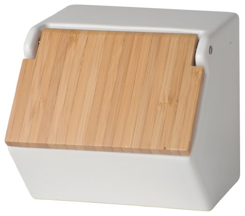 Now Designs Takenoko Salt Box, White