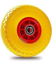 Miafamily PU-wiel 3.00-4 - massief rubber kruiwagenwiel R pechbestendig, 260 mm, maximale belasting 100 kg