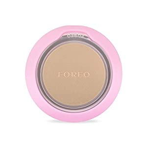FOREO UFO Smart Mask Treatment Device  Pearl Pink  Face Mask in Just 90 Seconds  Facial Mask Treatment with Thermo/Cryo/LED Light Therapy and Sonic Pulsation, Dedicated Smartphone App (Color: Pearl Pink)