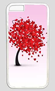 Be Mine Abstract Tree DIY Hard Shell Transparent Best Designed iphone 6 Case
