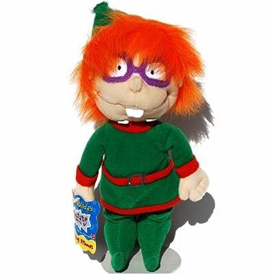Chuckie Holiday Elf - Rugrats Bean Bag Plush: Toys & Games