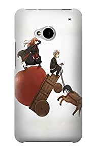 E1167 Spice and Wolf Horo Lawrence Funda Carcasa Case para HTC ONE M7
