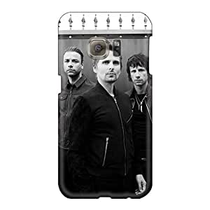 Durable Hard Phone Covers For Samsung Galaxy S6 (Suj17022AaMC) Customized High Resolution Muse Band Skin