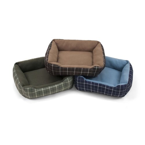 Rectangle Cuddler Dog Bed - 19