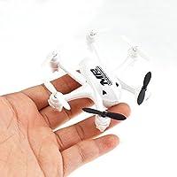 NiGHT LiONS TECH X175 Mini Pocket Drone 2.4G RC 3D Tumbling Headless Mode Quadcopter (white)