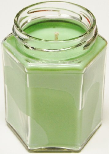3 Pack 12 oz Squat Hex Soy Candle - Pearberry 12 Oz Hex Jar
