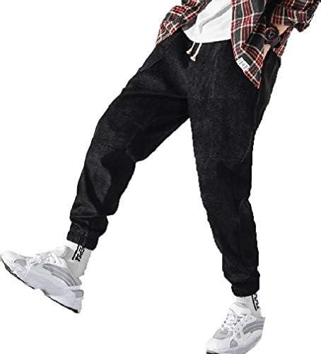 VITryst Men Fashion Drawstring Warm Loose Sweatpants Casual Harem Pants