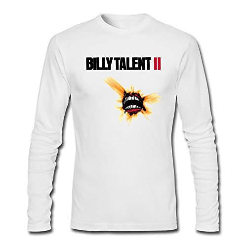 Futhure Men's Billy Talent Long Sleeve DIY T Shirt