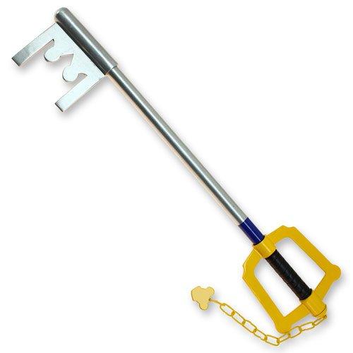 Giant Heart Metal Key to The Kingdom Sword Reproduction 30 Inch Blade (Kingdom Hearts House Key)