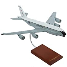 RC-135U Combat Sent New Engines Quality Desktop Model Plane 1/100 Scale / Unique and Perfect Gift Idea / Museum Quality Handcrafted Reconnaissance Jet Aircraft Replica Display / Collectible Gift Toy