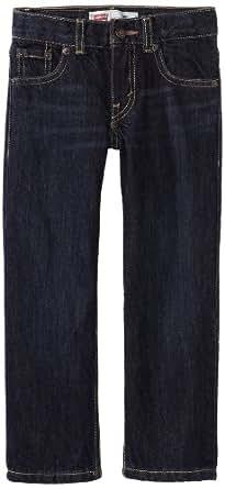 Levi's Boys' 505 Regular Fit Jeans, Midnight, 2T
