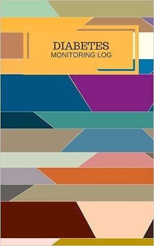 Diabetes Monitoring Log: Bight Type 1 & Type 2 Template Book ...