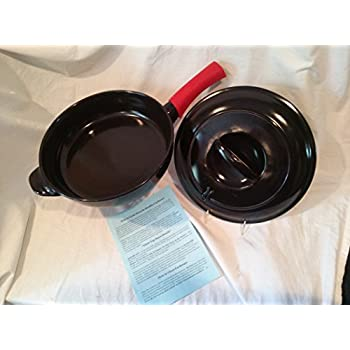 Amazon Com 12 Quot 100 Ceramic Skillet Pan With Cover And