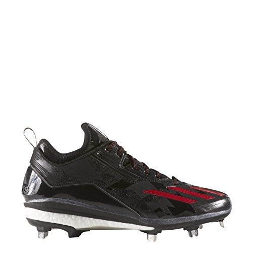 Adidas Energi Boost Ikon 2,0 Mænds Baseball Klamper Kerne Sort / Power Rød / Power Rød