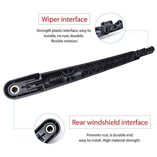 Limpiaparabrisas trasero y cuchillas 305 mm), color negro: Amazon.es: Coche y moto