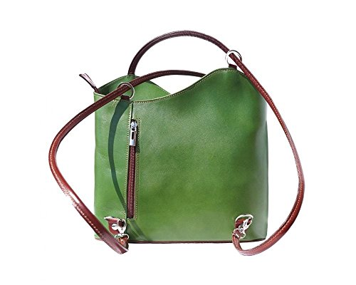 Backpack Florence Bag Leather For Woman Green 207 t1wF6