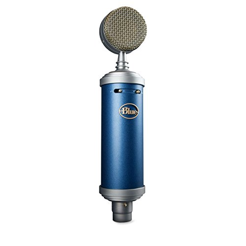Blue Bluebird Microphone Large Diaphragm Cardioid Condenser and Blueberry Cable (Blue Blueberry Microphone Cable)