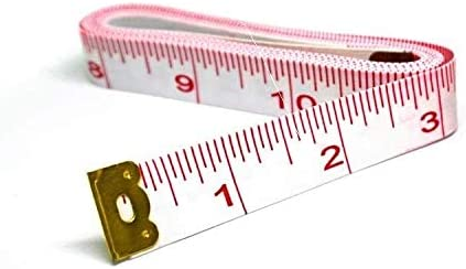 Tape Measure 60 Inches//150cm for Cloth Sewing Waist Bra Head Circumferen Soft Tape Measure for Sewing Tailor Cloth Ruler