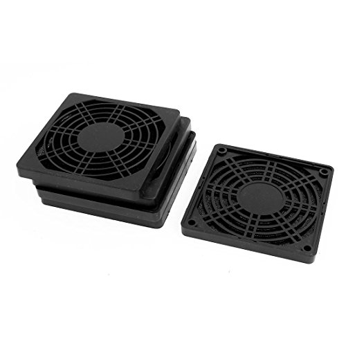 Aexit 5pcs 97mm Fans & Cooling x 97mm Dustproof Case PC Computer Case Fan Case Fans Dust Filter