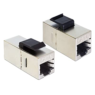 DeLOCK 86210 - Conector RJ45 (hembra a hembra, Cat6)